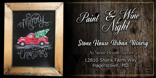 Paint Event at Stone House Urban Winery