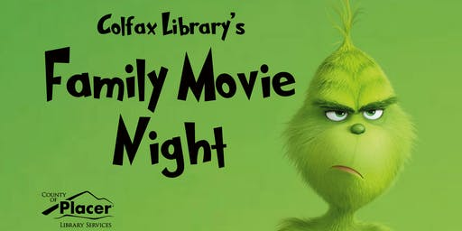Family Movie Night @ the Colfax Library