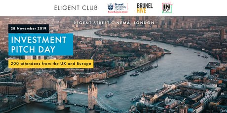 Investment Pitch Day by Eligent Accelerator tickets
