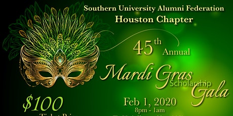 45th Annual Mardi Gras Scholarship Gala tickets
