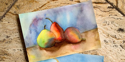 Paintin' Pears! Watercolor Workshop with Julie Nieves