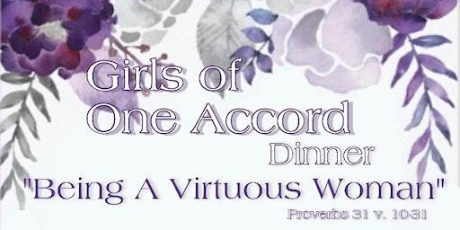 Girls Of One Accord Dinner