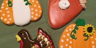 Beginner Cookie Decorating - Thanksgiving Theme