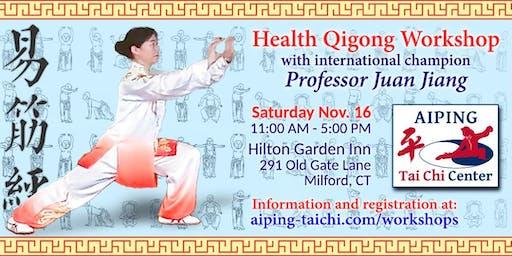 Health Qigong Workshop: Yi Jin Jing (Tendon Changing Exercises)