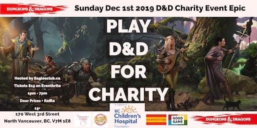D&D Charity Event Epic