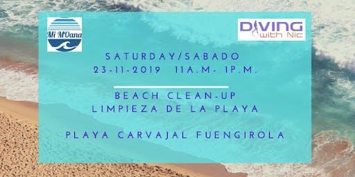 Beach Cleanup - Limpieza de la Playa Fuengirola
