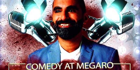 Banterbash Comedy night at Megaro bar - Taz Ilyas tickets