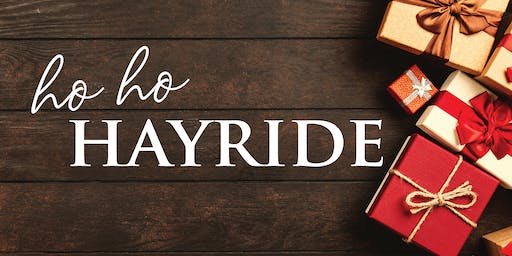 HO-HO-HAYRIDE December 8th