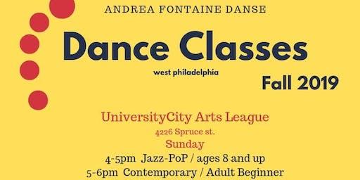 Contemporary-Jazz dance class (adult beginner)
