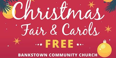 Christmas Fair & Carols  tickets