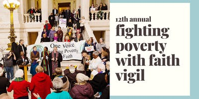 12th Annual Fighting Poverty With Faith Vigil
