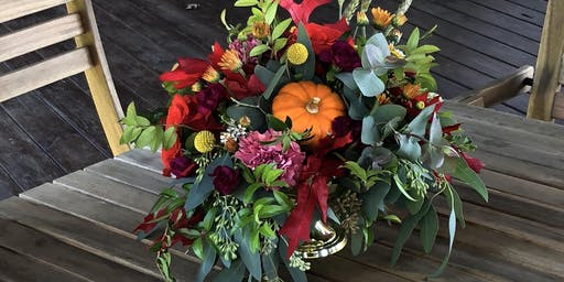 Thanksgiving Centerpiece Class