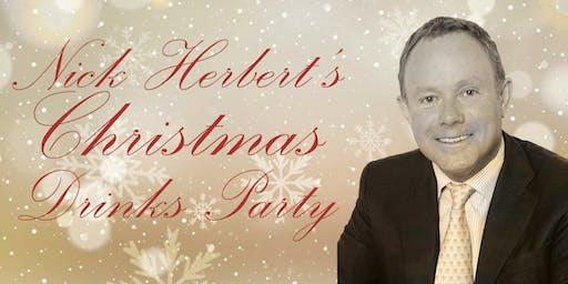 Nick Herbert's Christmas Drinks Party