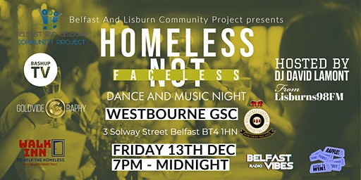 Homeless Not Faceless - Dance And Music Night