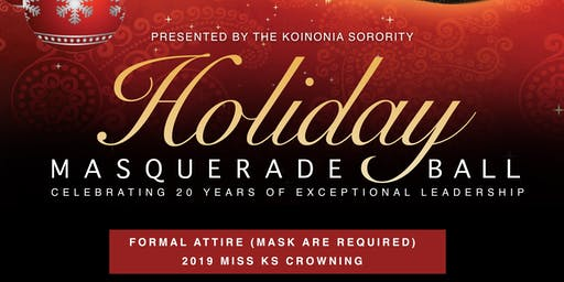 Koinonia Sorority Presents: Holiday Masquerade Ball