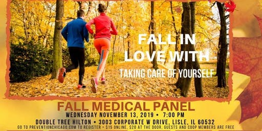 FALL MEDICAL PANEL ~ 11/13/19 (Lisle)