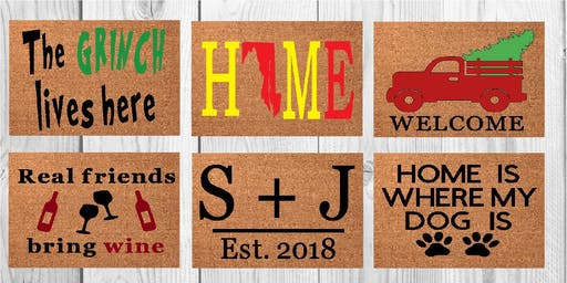 Welcome Mat Painting 11/17