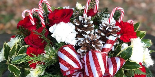 Holiday Flower Arrangement