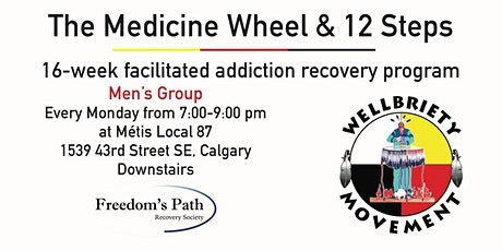 The Medicine Wheel & 12 Steps for Men tickets