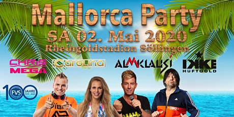 Mallorca Party billets