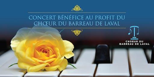 Concert bénéfice au profit du Chœur du Barreau de Laval