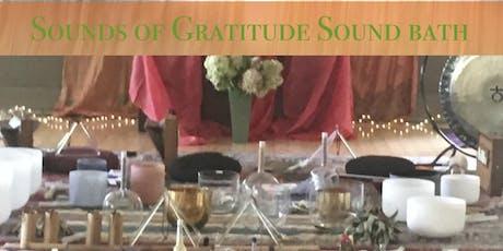 Sounds of Gratitude- Sound Bath tickets