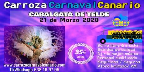 Entradas Carroza Carnaval Telde 2020 entradas