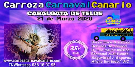 Entradas Carroza Carnaval Telde 2020