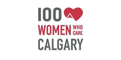 100 Women Calgary Meeting