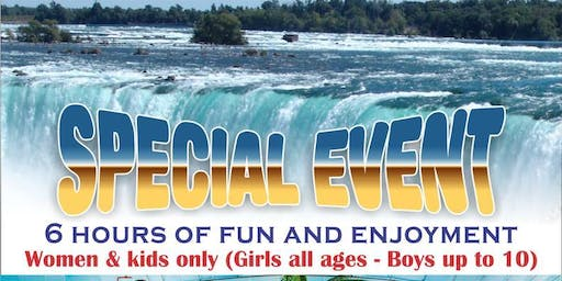Water Park Special Event