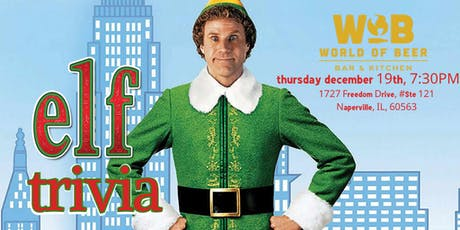 Elf Trivia at World of Beer Naperville tickets