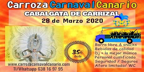 Entradas Carroza Carnaval Carrizal 2020 entradas