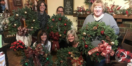 Decorate your own fresh wreath tickets