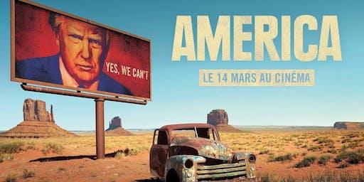 "Projection du film ""America"""