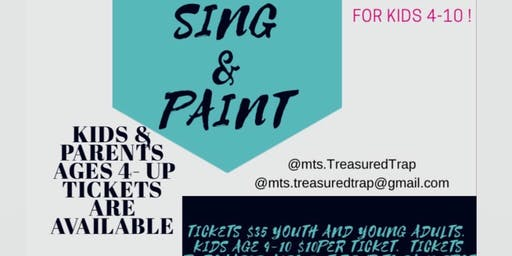 Sing  & Paint! Godly event . Family is welcome youth & young adults