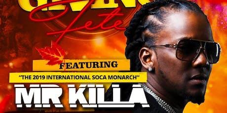 Mr Killa live in concert tickets