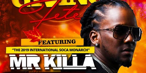 Mr Killa live in concert