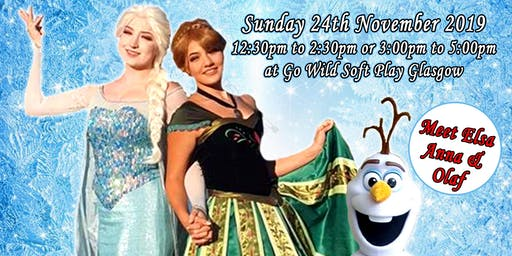 Glasgow Frozen II Sing-A-Long Character Meet & Greet Event