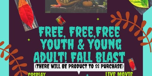 Free free Youth & young Adult fall blast