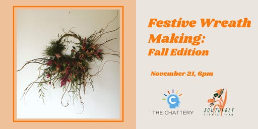 Festive Wreath Making: Fall Edition - SOLD OUT