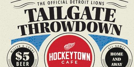 Tailgate Throwdown tickets