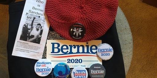 Bernie Brainstorm Crafting and Conversation