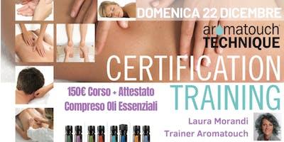 TARANTO Corso doterra AromaTouch Technique 22 Dicembre