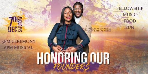 An Evening With Grace - Founder's Day Celebration 2019