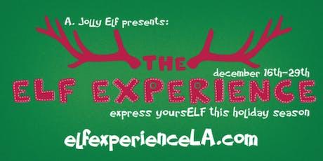 the Elf Experience LA tickets