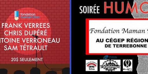 Soirée d'humour//Fondation maman Dion