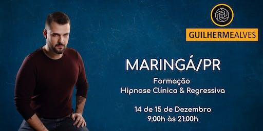 Maringá/PR - Formação Hipnose Clínica & Regressiva com Guilherme Alves