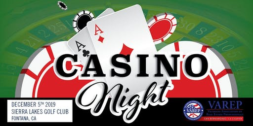 Casino Night Charity Event for our Vets
