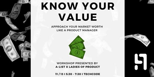 How much are *YOU* worth? I  A SALARY WORKSHOP