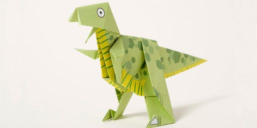 NORTHSIDE Dino-Gami Origami (For Grades K-2 ONLY)